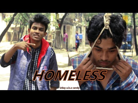 Homeless By Uday A.k.a Candy | Eid Special  New Bangla Rap Song 2017 | Eid Special | Crags Citty