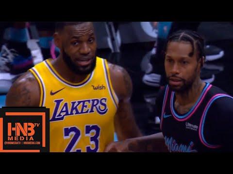 Los Angeles Lakers vs Miami Heat 1st Qtr Highlights   11.18.2018, NBA Season