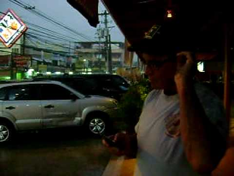 Angeles City Philippines Monsoon.AVI