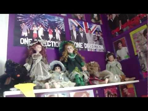 My one direction room tour ! ♥ (:
