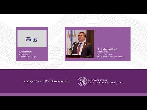 Entrevista - Alejandro Vanoli en Radio América - 29/07/2015