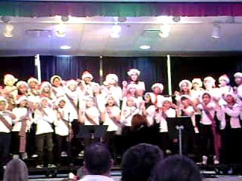 Pandora's Dunedin Elementary School Chorus concert December 16th 2010
