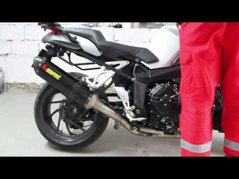 BMW K1200R Akrapovic Full Exhaust