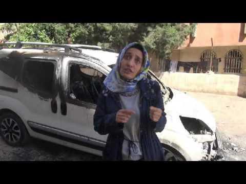 Urfa'da 4 araç kundaklandı