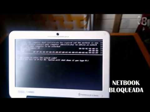 Como desbloquear netbook del gobierno 2014 (HD)