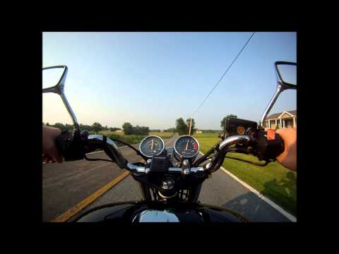 cb750 nighthawk speed test