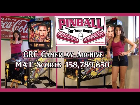 LAST ACTION HERO Pinball Machine ~ GRC Gameplay Archive ~ MAT Scores 158,789,650...