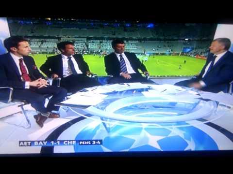 Chelsea VS Bayern Munich Champions League Final Players Celebrating