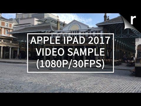 Apple iPad 2017 video sample (1080p/30fps)