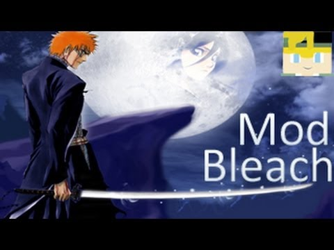 Minecraft MODS  # Bleach Mod! - Hollows e Shinigamis (.minecraft 1.5.2)