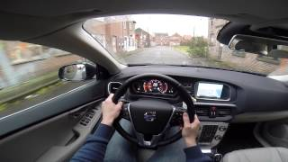 Volvo V40 Cross Country T4 4WD 180BHP POV test drive GoPro