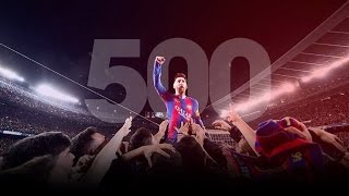 Lionel Messi  All 500 Goals For Barcelona 2004 2017  Hd