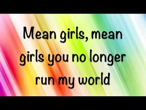 Rachel Crow - Mean Girls - Lyrics!! (HD)