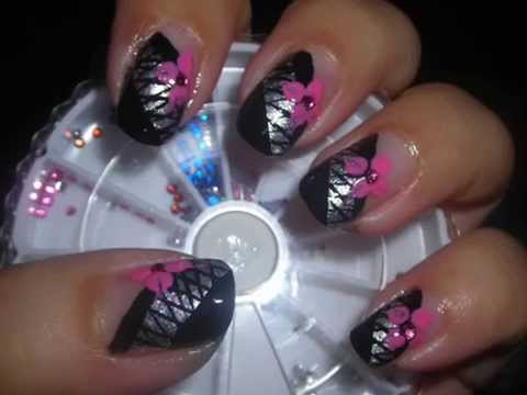 Nail Art - Nets of Love (Decoración de Uñas)