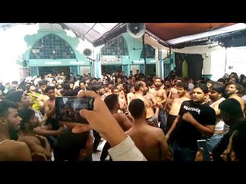6th Muharram Matam Aaga Baqir Anjuman e Ummul Masaeb Lucknow