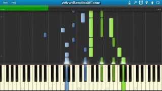 K Project Ed, Tsumetai, Heya Hitori Piano tutorial