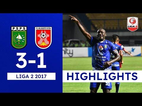 [8 Besar   Matchday 1] PSPS Riau vs PSMP Mojokerto  - Goals & Highlights - Liga 2 (15/11/2017)