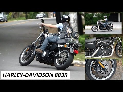 Garagem do Bellote TV (Moto): Harley-Davidson 883R