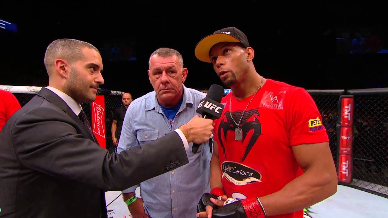 Fight Night Hollywood: Santos Breaks Down Victory