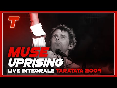 Muse uprising (live On Taratata Oct. 2009) video