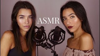 ASMR Twins Intense Layered Sounds (Wet mouth sounds, Mic scratching, Scalp massage, kisses...)