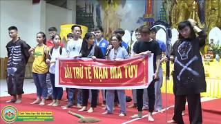 Kịch ngắn: Tệ Nạn Ma Túy - Khóa sinh Tổ 8 - KTMH chùa Khai Nguyên 2017