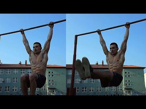 5 NAJLEPSZYCH ĆWICZEŃ NA BRZUCH - DRĄŻEK / 5 BEST ABS EXERCISES - BAR