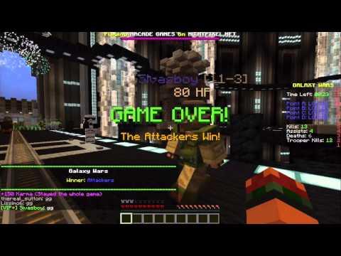 Minecraft Minigame : Galaxy Wars ! [ Türkçe ]