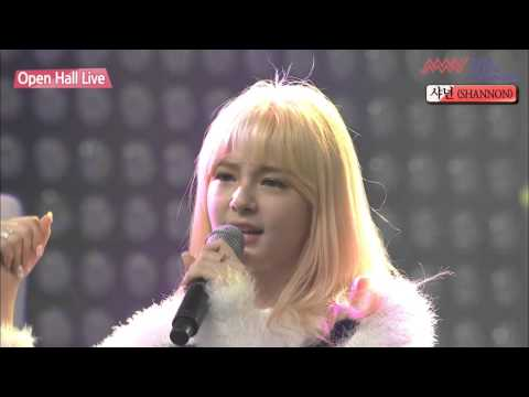 150911 Asia Music Network Shannon (샤넌) - Why Why (왜요왜요)