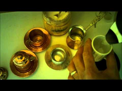 How To Make TURKISH COFFEE! (The Original and Natural Viagra)