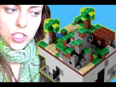 Another Day with Olga Kay - MINECRAFT LEGO