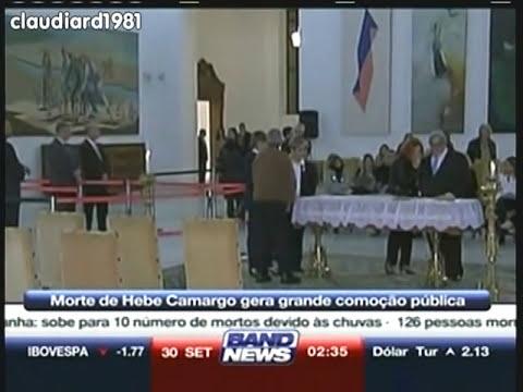 Famosos no velório de Hebe Camargo (29.09.2012)