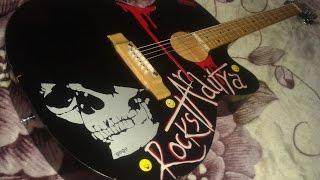 Dooba dooba song on Guitar I RockstarAditya I MaddyRules