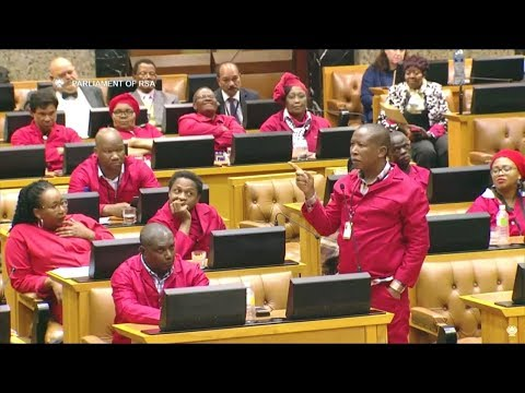 BIG FIGHT - More Drama - Parliament Punish Malema And Steenhuisen