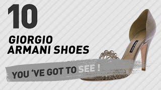 GIORGIO ARMANI Women Shoes // The Most Popular 2017
