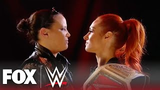 Becky Lynch and Shayna Baszler face off in intense confrontation | MONDAY NIGHT RAW