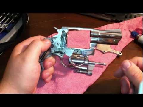 Polish and trigger job on a taurus 605 .357 magnum revolver