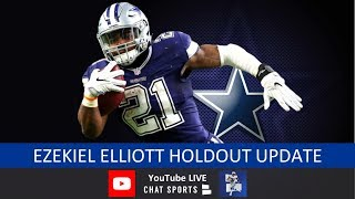 Ezekiel Elliott Holdout Update + Latest Cowboys News & Rumors From Jerry Jones' Press Conference