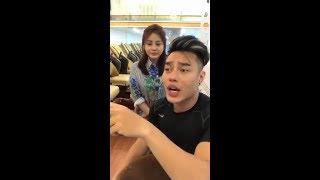 Lê Dương Bảo Lâm tham quan shop nail của Lê Giang