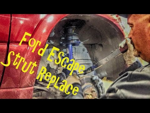 Ford Escape Strut Replace - Replacing Modular Strut Assemblies
