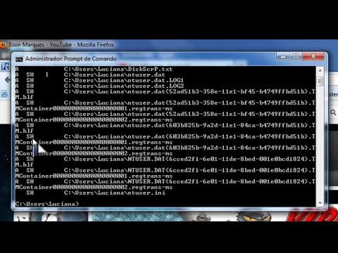 Como remover virus do PC pelo prompt de comando sem anti-virus.