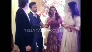 MohsinKhan ShivangiJoshi dancing together at Wedding Reception Party 29.02.2020