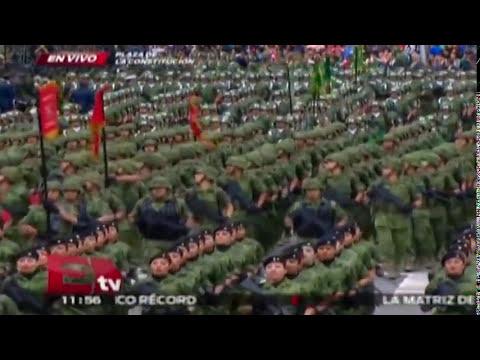 Desfile Militar del 16 de Septiembre Parte 4