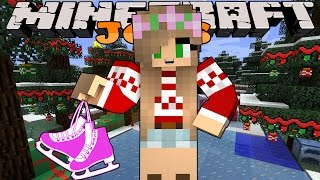Minecraft Jobs-Little Kelly Adventures- ICE SKATING JOB!