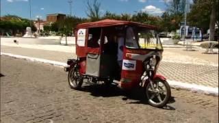 Achamos no Brasil: o Tuk-Tuk da Índia, vira meio de transporte na Paraíba