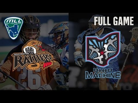 MLL's Youtube Game of the week: Rochester Rattlers at Ohio Machine