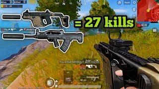 PUBG Mobile - Sức Mạnh Khủng Khiếp Của Vector Tầm Gần | Solo Squad 27 Kills