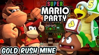 ABM: SUPER MARIO PARTY !! GOLD RUSH MINE !! Partner Party !! HD