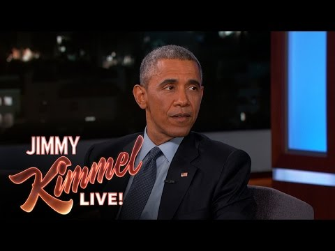 Obama reflects on Ferguson in 'Kimmel' appearance