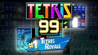 I AM THE TETRIS KING - Tetris 99 [Battle Royale] Gameplay and First Impressions